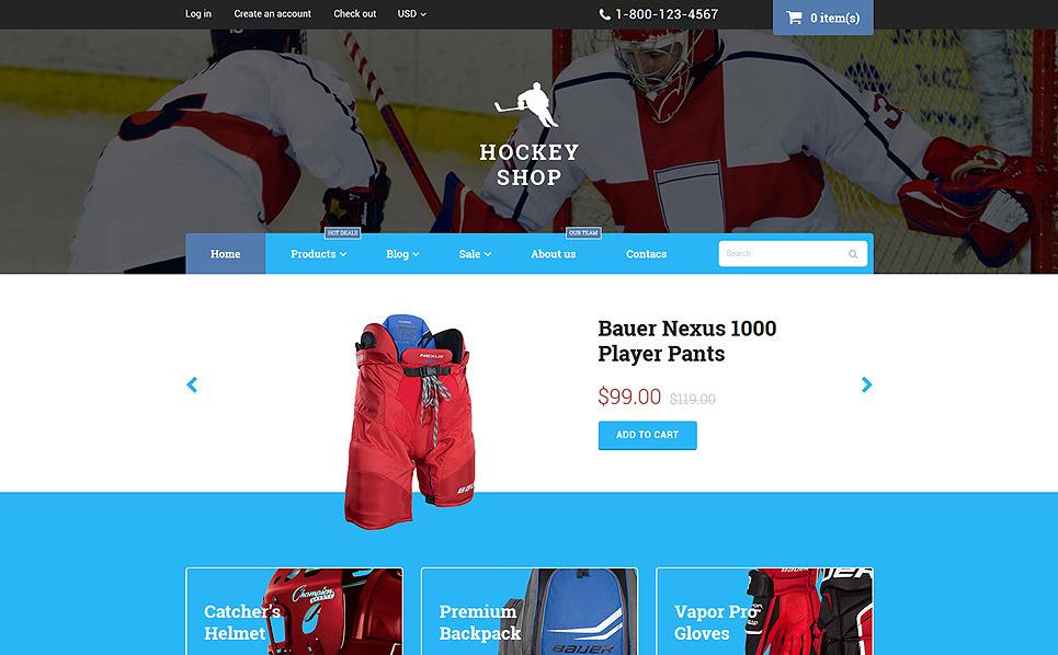 Shopify motiv Hokej New Screenshots BIG