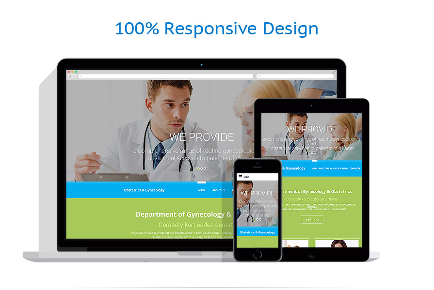 Modèles HTML5 Médical #57757