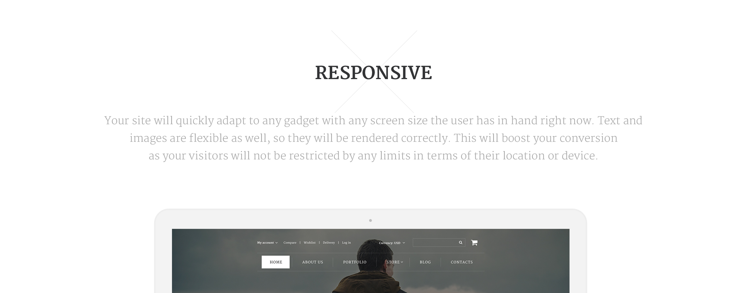 Travel Products  Responsive OpenCart Template