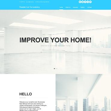 Купить Muse шаблон сайта о дизайне интерьеров. Купить шаблон #57765 и создать сайт.