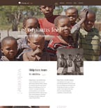 Charity Website  Template 57766