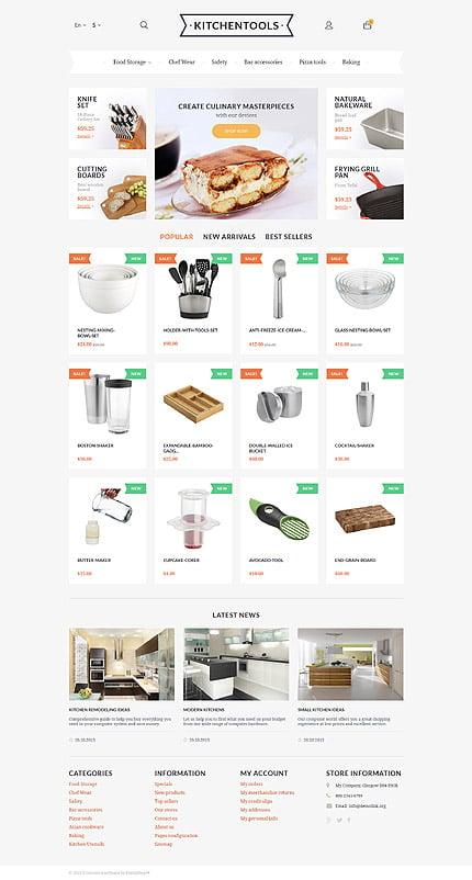 ADOBE Photoshop Template 57772 Home Page Screenshot