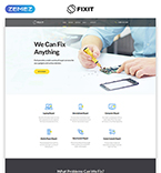 Computers Website  Template 57776