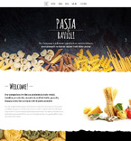 Cafe & Restaurant Joomla  Template 57779