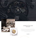 Cafe & Restaurant Joomla  Template 57781