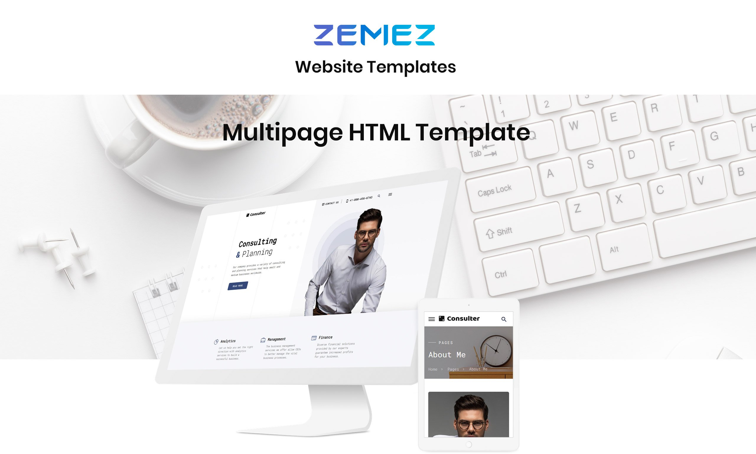 Tood Business  Responsive Website Template