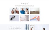"""Consulter - Stylish Consulting Company Multipage HTML"" Responsive Website template"