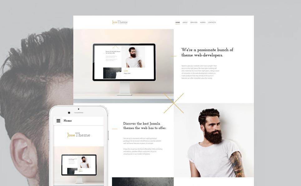 Responzivní Šablona webových stránek na téma Webový Design New Screenshots BIG
