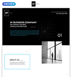 Landing Page  Template 57785
