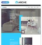 Architecture Website  Template 57791