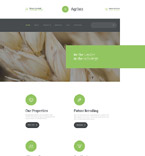Agriculture Website  Template 57794