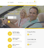 Cars Website  Template 57795