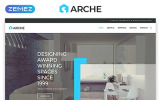 """Arche - Architecture Responsive Creative HTML"" Responsive Website template"