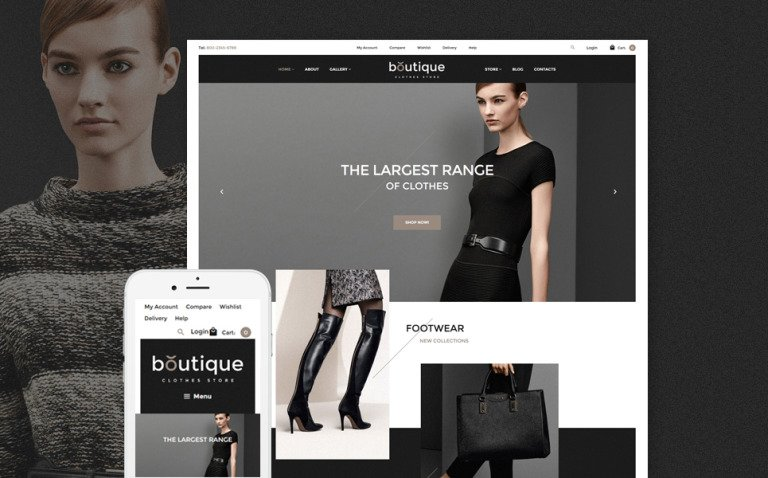 Boutique WooCommerce Theme New Screenshots BIG