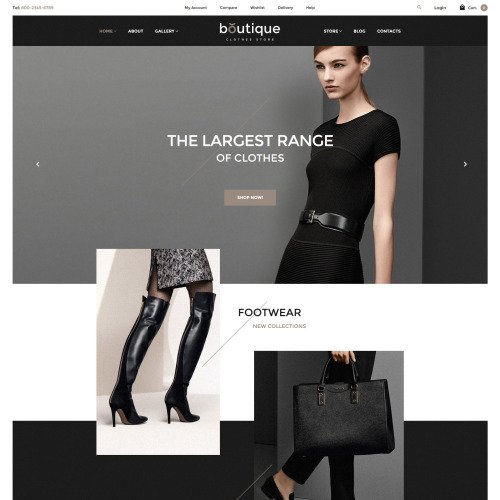 Boutique - WooCommerce Template based on Bootstrap