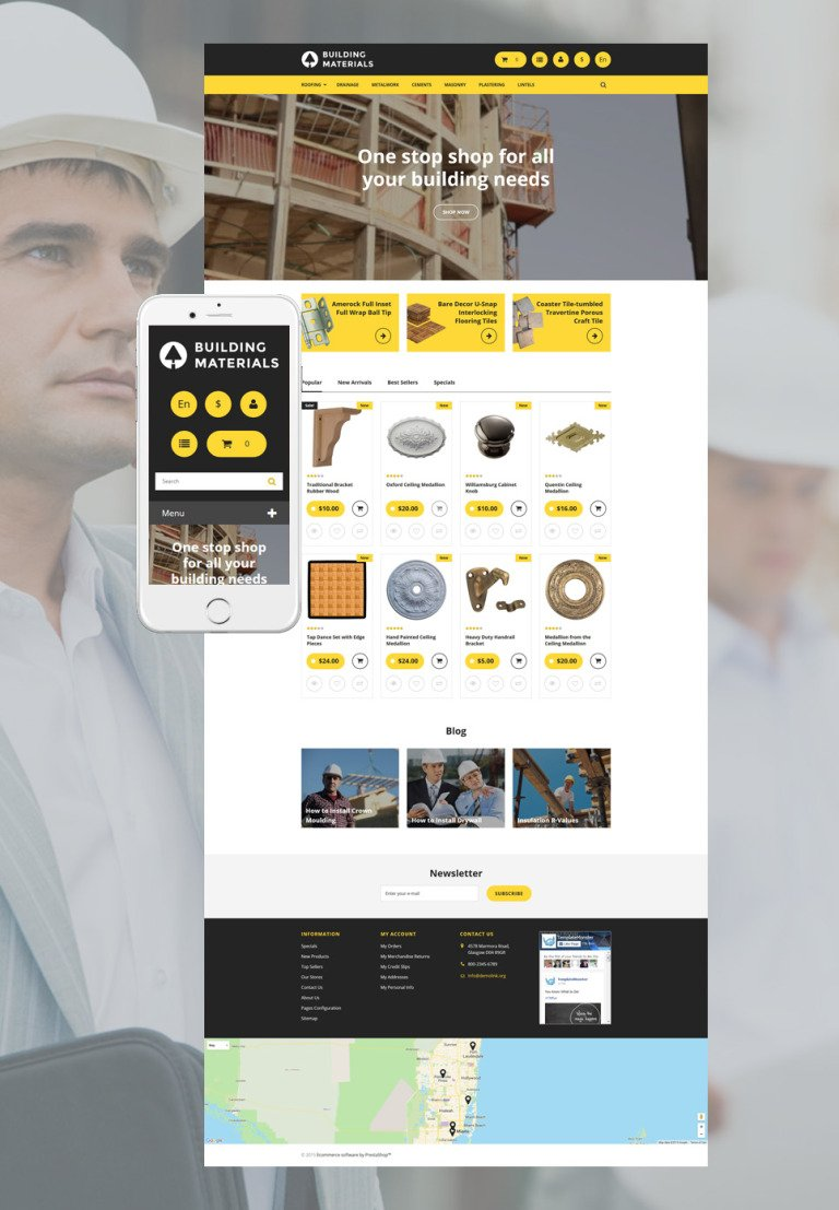 Building PrestaShop Theme New Screenshots BIG
