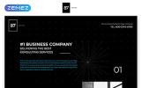 87 - Business & Corporate Creative HTML Templates de Landing Page  №57785