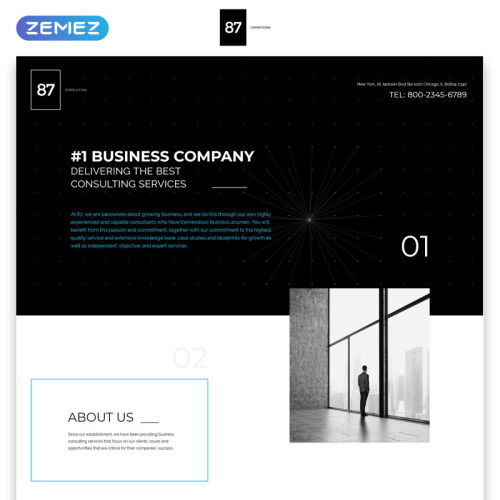 The Leading Company - Responsive Landing Page Template