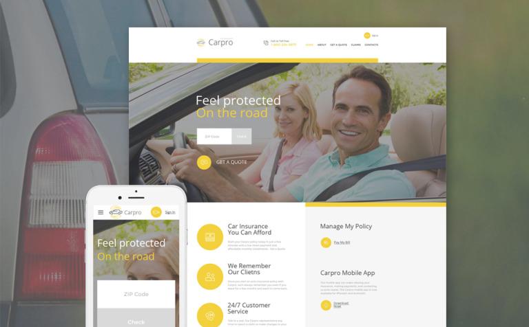 Carpro Website Template