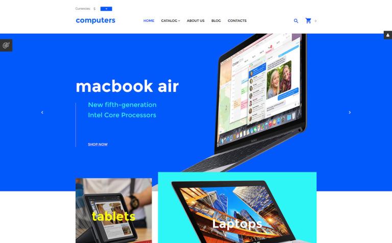 Computers VirtueMart Template
