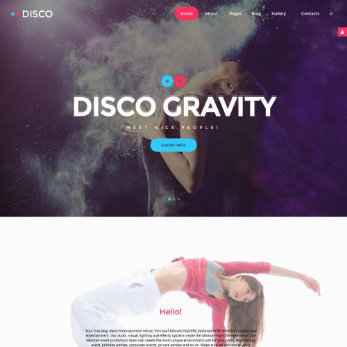 Disco  - HTML5 Joomla! Template
