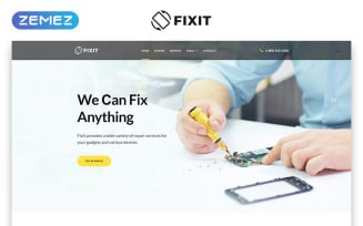 Fixit - Gadget Repair Services Clean Multipage HTML5 Website Template