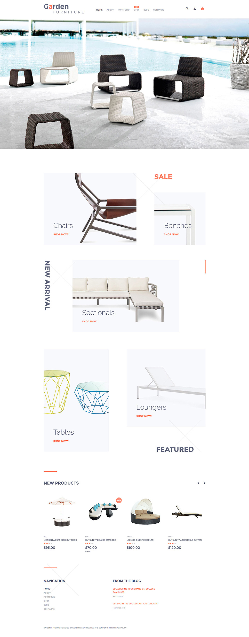 Garden Furniture WooCommerce Theme New Screenshots BIG
