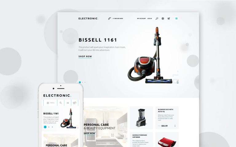 Home Electronics Magento Theme New Screenshots BIG