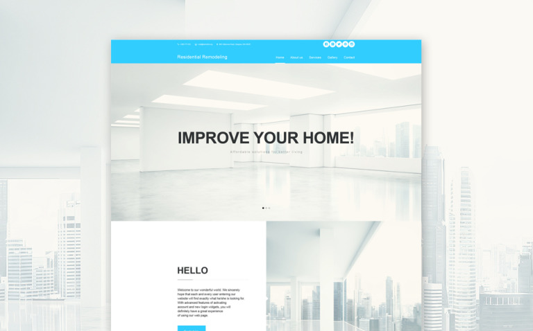 Home Remodeling Muse Template New Screenshots BIG
