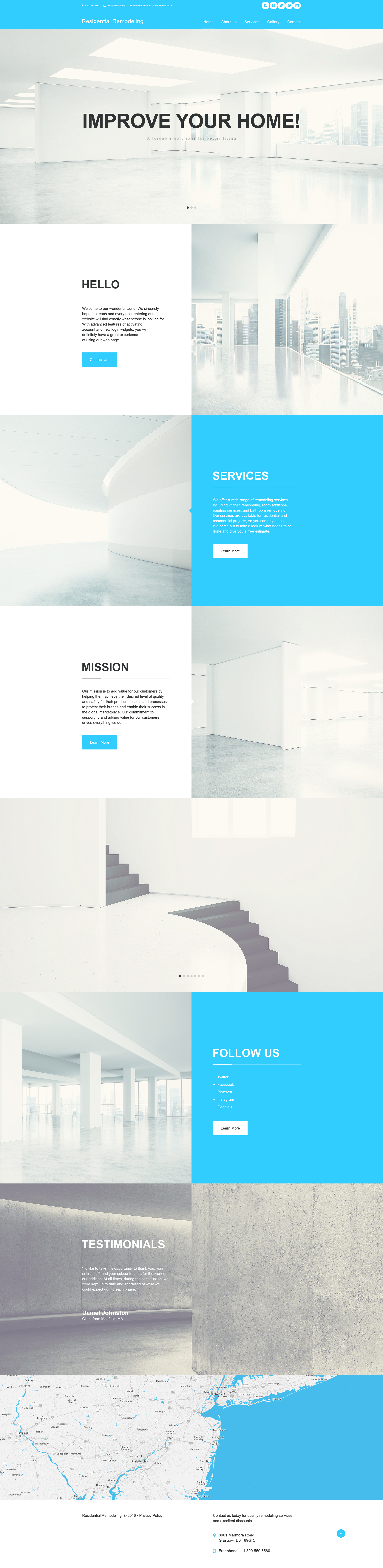 Home Remodeling Muse Template