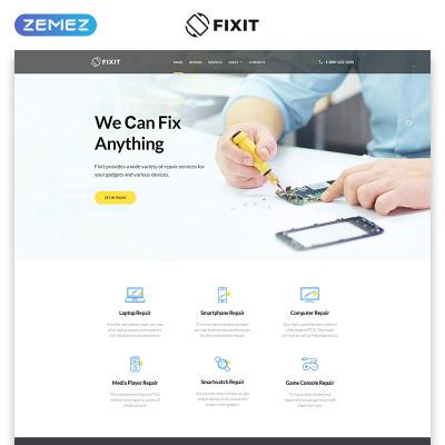 Computer Repair Responsive Template Siti Web