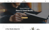 Responsywny szablon strony www Booksmart - Books for Rent Modern Multipage HTML5 #57743