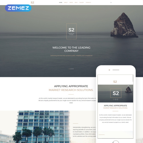 S2 Business Company - Joomla! Template based on Bootstrap