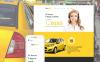 Taxi társaság  Joomla sablon New Screenshots BIG