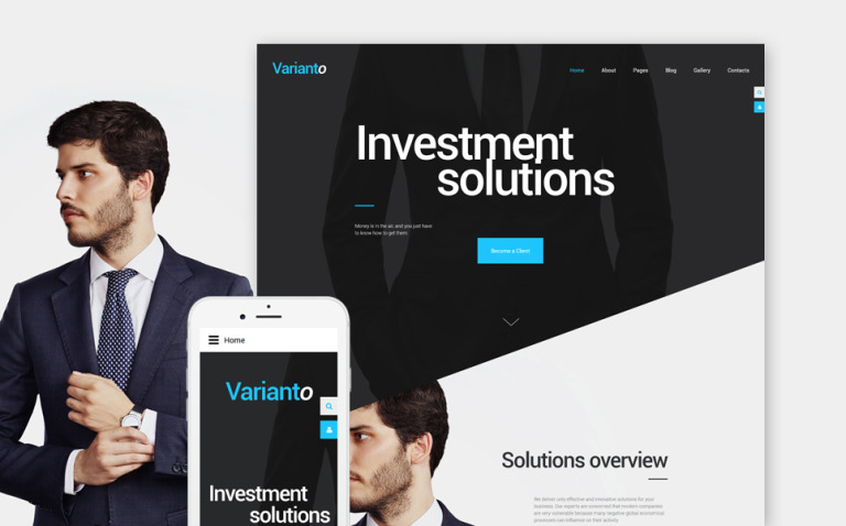 Varianto Joomla Template New Screenshots BIG