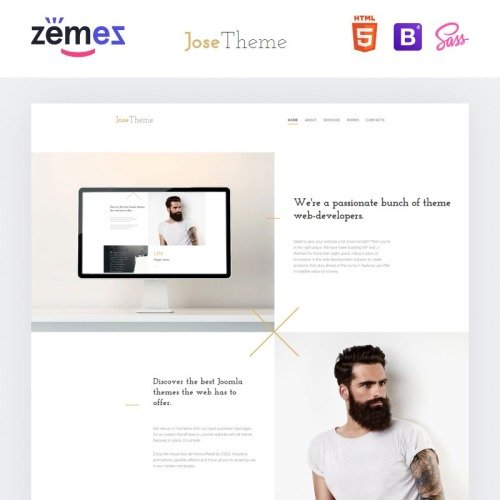 Jose Theme - Website Template based on Bootstrap