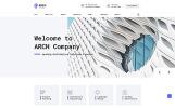 "Website Vorlage namens ""Arch - Architecture Multipage HTML"""
