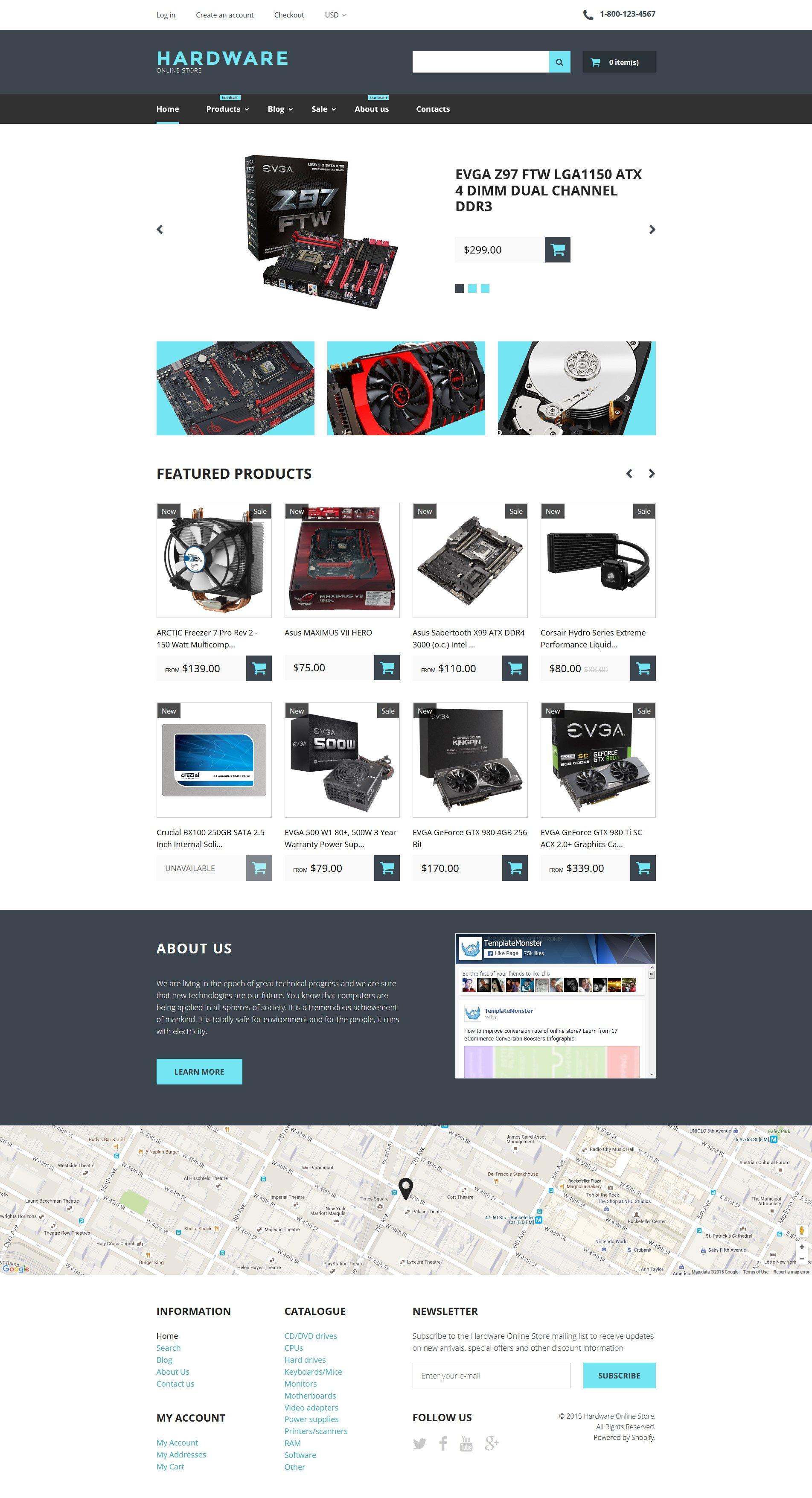 响应式Shopify模板 #57724