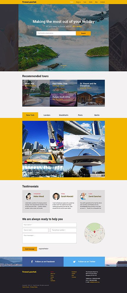 Website Template #57801