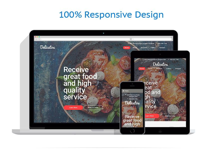 Modèles HTML5 Café et Restaurant #57803