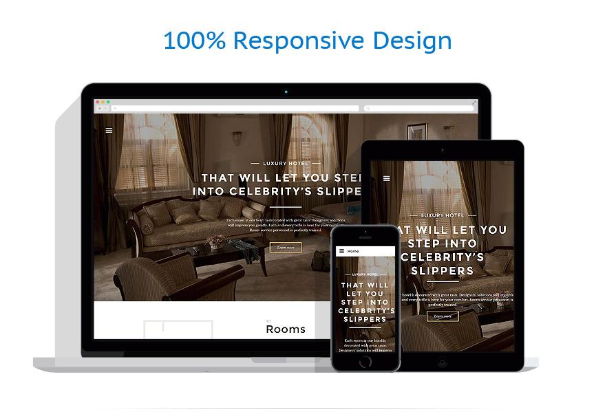 Modèles HTML5 Hôtels #57805