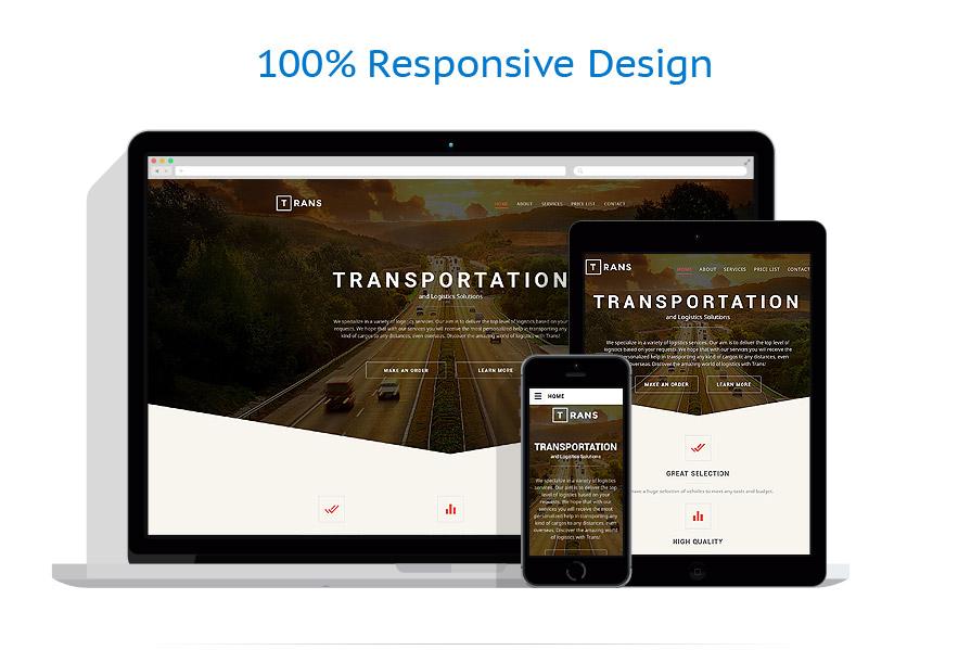 Modèles HTML5 Transports #57806