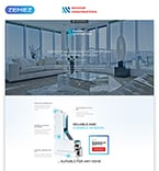 Furniture Landing Page  Template 57808