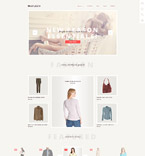 Fashion OpenCart  Template 57809