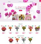 Flowers PrestaShop Template 57810