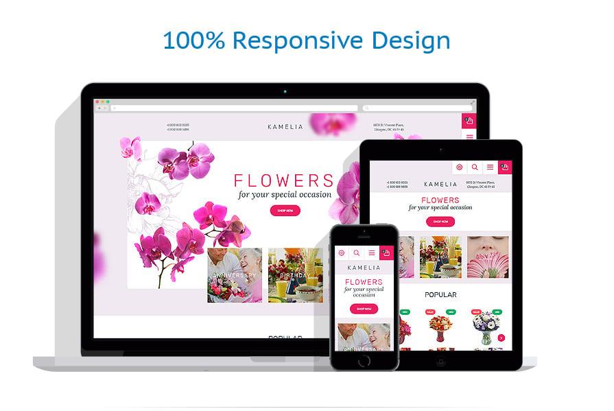 Thèmes PrestaShop Fleurs #57810