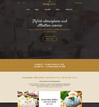 Cafe & Restaurant Website  Template 57813
