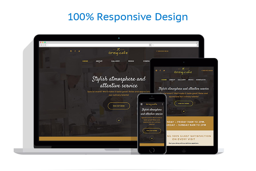 Modèles HTML5 Café et Restaurant #57813