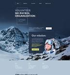 Sport Website  Template 57815