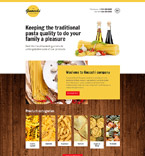 Cafe & Restaurant Website  Template 57818